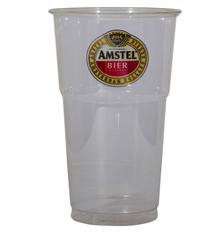 PET plastic bierglas